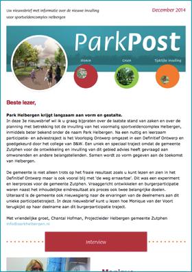 ParkPost december 2014